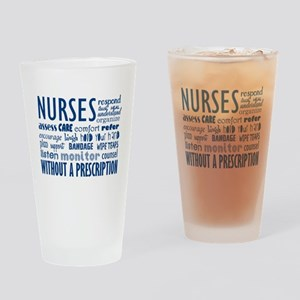Nurses Drinking Glass