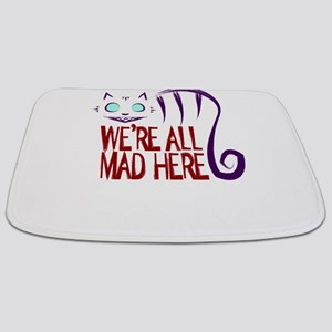 We're All Mad Here Bathmat