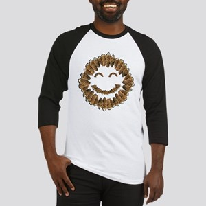 Morel Mushrooms Smiley face: Baseball Jersey