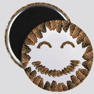 Morel Mushrooms Smiley face: Magnet