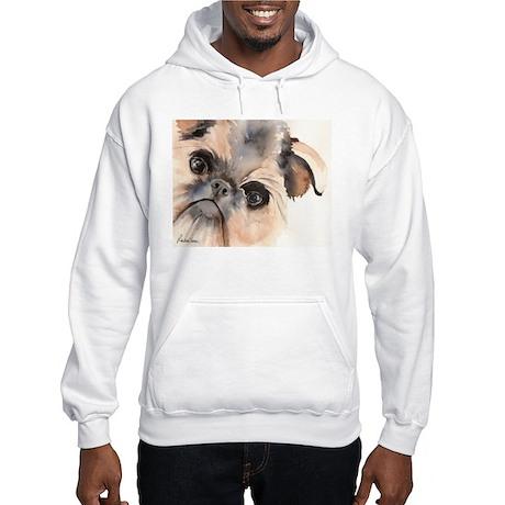 Brussels Griffon Stuff Hooded Sweatshirt