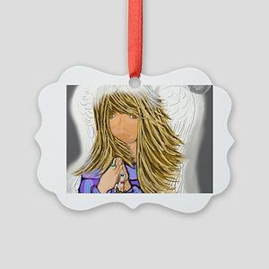 Archangel Gabriel Picture Ornament