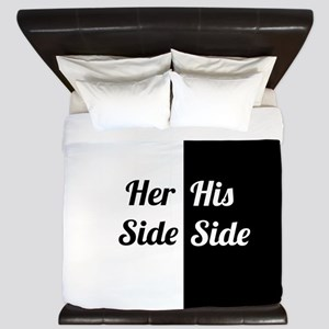 His Side Her Side 6. King Duvet