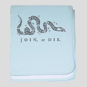 Join Or Die, Liberty baby blanket