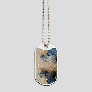 hiking boots Dog Tags