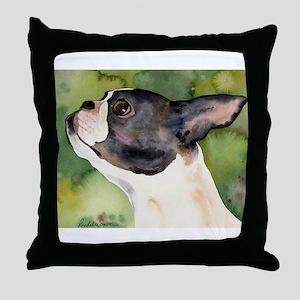 Boston Terrier Giftware Throw Pillow