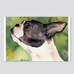Boston Terrier Giftware Postcards (Package of 8)