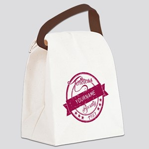 1957 Timeless Beauty Canvas Lunch Bag
