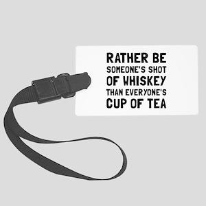Shot Of Whiskey Luggage Tag
