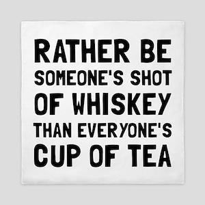 Shot Of Whiskey Queen Duvet