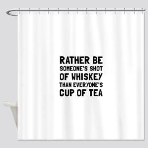 Shot Of Whiskey Shower Curtain