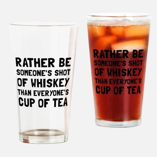 Shot Of Whiskey Drinking Glass