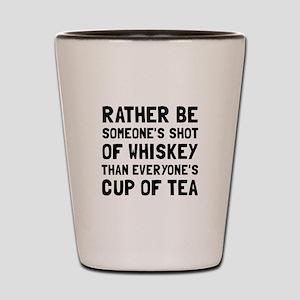 Shot Of Whiskey Shot Glass