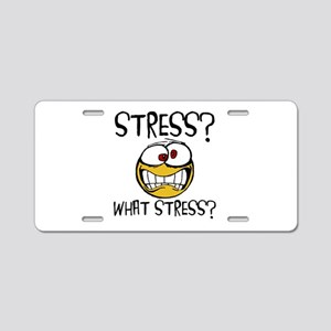 What Stress Aluminum License Plate