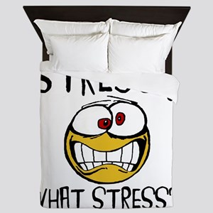 What Stress Queen Duvet