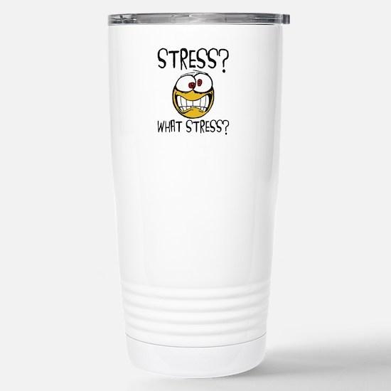 What Stress Travel Mug