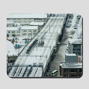 Commuter Train Mousepad