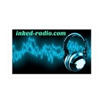 Inked Radio Wall Decal