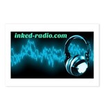 Inked Radio Postcards (Package of 8)