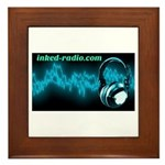 Inked Radio Framed Tile