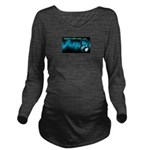Inked Radio Long Sleeve Maternity T-Shirt