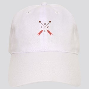 Love Heart Arrows Baseball Cap