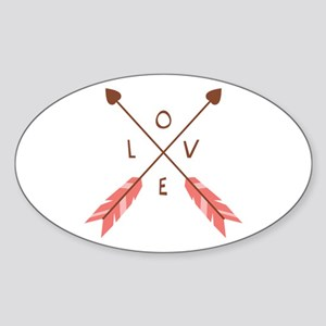Love Heart Arrows Sticker