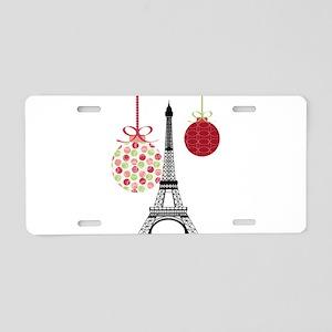 Merry Christmas Eiffel Tower Ornaments Aluminum Li