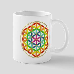 Flower of Life Chakra Mug