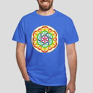 Flower of Life Chakra Dark T-Shirt
