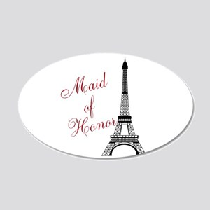 Maid of Honor Eiffel Tower Wall Decal