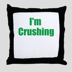 Im Crushing Throw Pillow