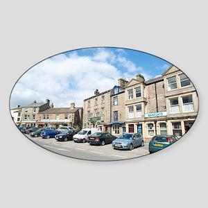 hawes main street Sticker (Oval)