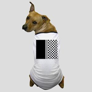 Stylish designer Stripes and checks Dog T-Shirt
