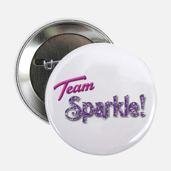 "Pink Team Sparkle! 2.25"" Button (100 pack)"