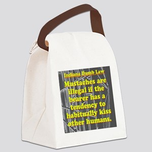 Indiana Dumb Law #9 Canvas Lunch Bag