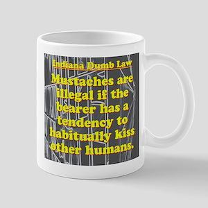 Indiana Dumb Law #9 Mugs