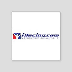 logo on white Sticker