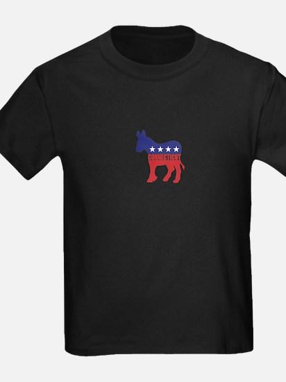 Connecticut Democrat Donkey T-Shirt