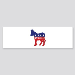 Florida Democrat Donkey Bumper Sticker
