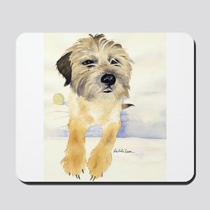 Border Terrier Things! Mousepad