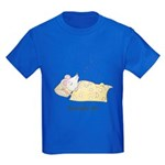 Sleeping Mouse Kids Dark T-Shirt