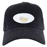 Sleeping Mouse Black Cap