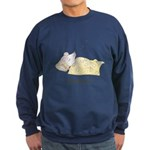 Sleeping Mouse Sweatshirt (dark)