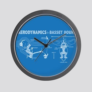 The Aerodynamics of a Basset Hound Wall Clock