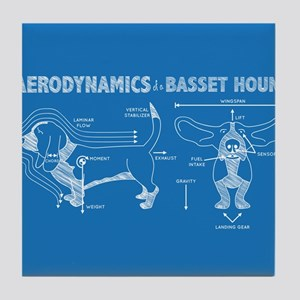 The Aerodynamics of a Basset Hound Tile Coaster