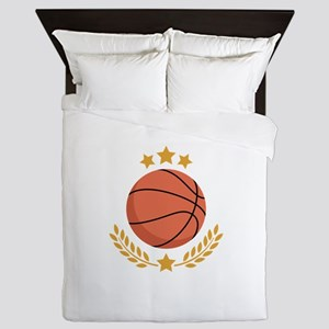 Basketball Laurel Queen Duvet