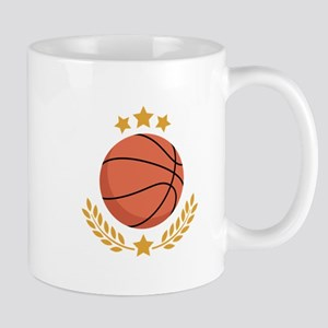 Basketball Laurel Mugs