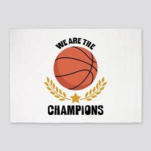 WE ARE THE CHAMPIONS 5'x7'Area Rug