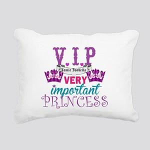 VIP Princess Personalize Rectangular Canvas Pillow